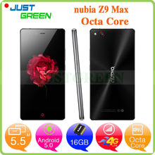 Original ZTE Nubia Z9 Max 4G LTE Cell Phone Snapdragon 810 Octa Core 5.5″ 1080P FHD 3GB RAM 16GB ROM 16MP Camera Android 5.0 NFC