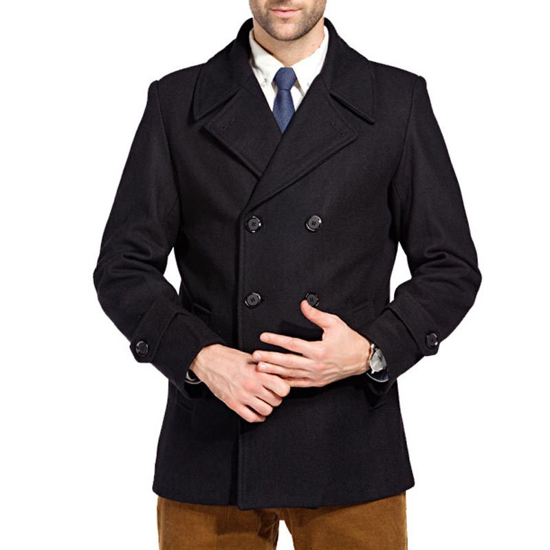 Compare Prices on Pea Coats Mens- Online Shopping/Buy Low Price