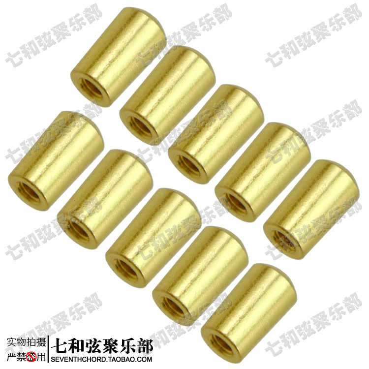 10 Pcs Gold Brass Electric Guitar Toggle Switches Knobs Switches Tip Buttons (Internal thread 4mm)(China (Mainland))