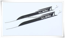 Alzrc HCW360C 480 Carbon Fiber 360C Blades FBL ALZRC Devil 480 Parts Free Shipping with Tracking