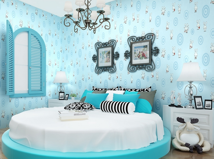 Inspiring Bedrooms For Girls Ashley Hackshaw Lil Blue Boo