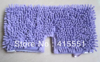 Free Shipping 500PCS/lot Coral Microfinre Pads for Shark Steam Mop Washable Replacement Blue Cleaning Pads