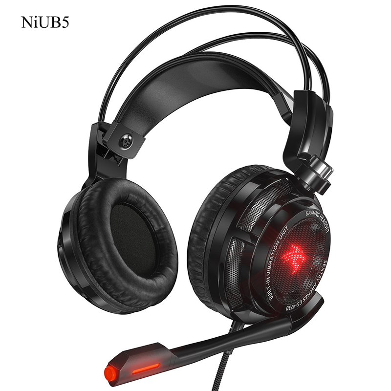 Multifunction Virtual 7.1 USB DAC Gaming Headset Arches with Vibration Intelligent Gaming Headphone with In-line Control(China (Mainland))