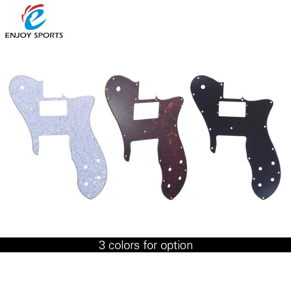 4Ply Electric Guitar Pickguard Pick Guard Scratch Plate for '72 Telecaster Custom Replacement Part White Pearl(China (Mainland))