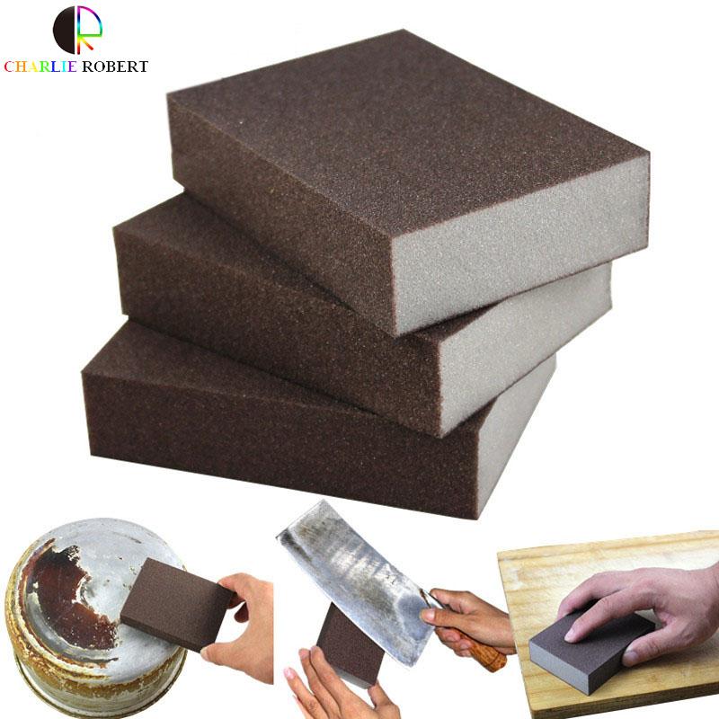 5Pcs/Lot Super Clean Nano Emery Magic Sponge Cleaner Multi-Functional Kitchen Eraser Melamine sponge Rush Cleaning Tools(China (Mainland))