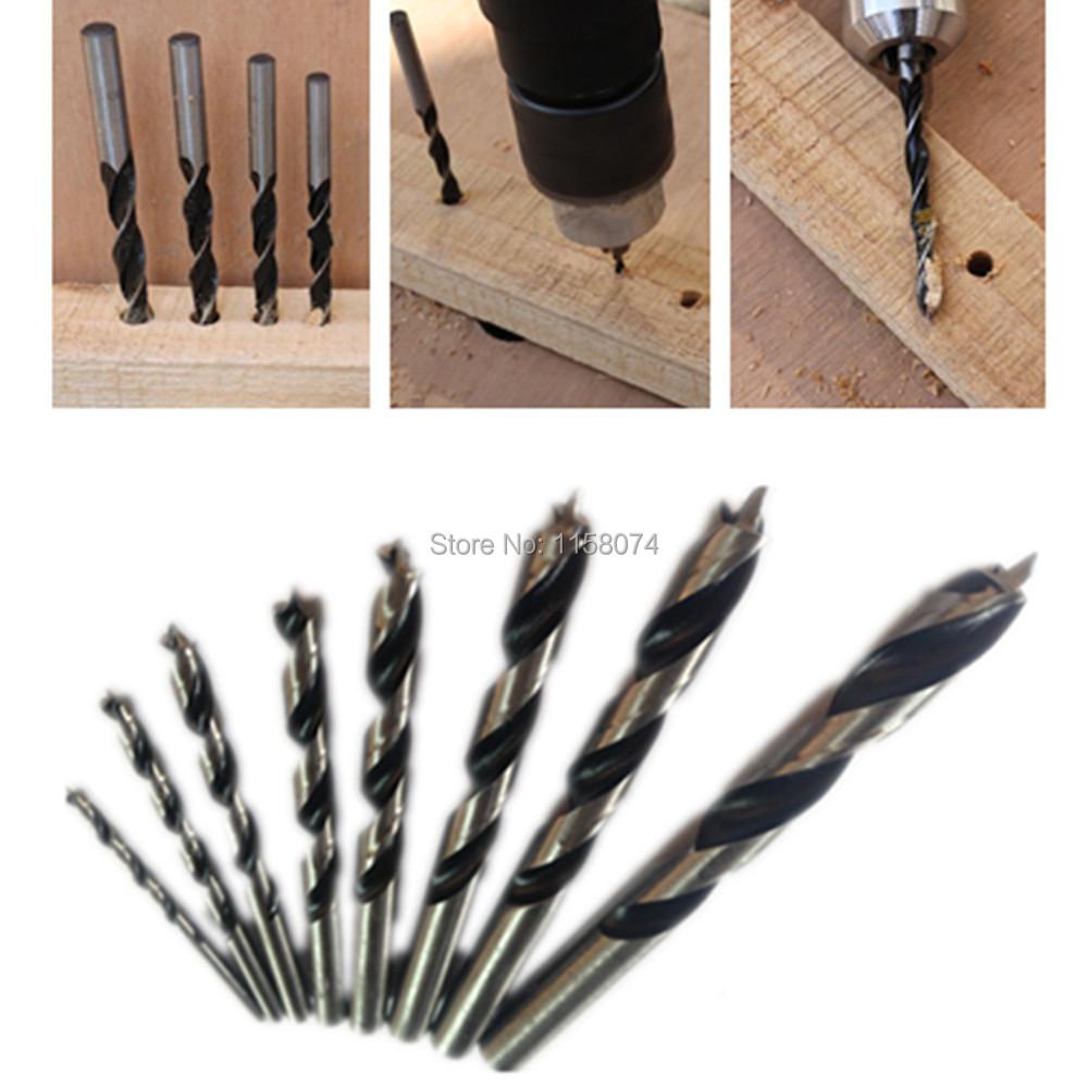 8pc Auger Drill Bit Set Wood Drill Bits Woodworking Bits