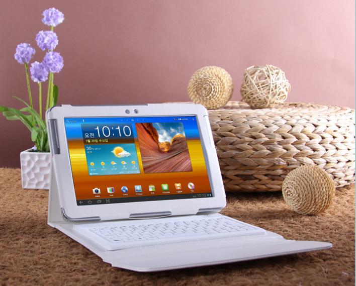Чехол для планшета DELON bluetooth/samsung Galaxy Tab2 10.1 N8000 P7510 P5100 D-bc1 чехол для планшета samsung flat screen protector p7500 p7510 p5100 p5110 n8000 n8010