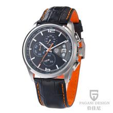 Pagani diseño marca male hombres deportes casual pulsera de cuarzo relojes de pulsera hombre reloj Parkour estilo reloj cronógrafo PD-3306