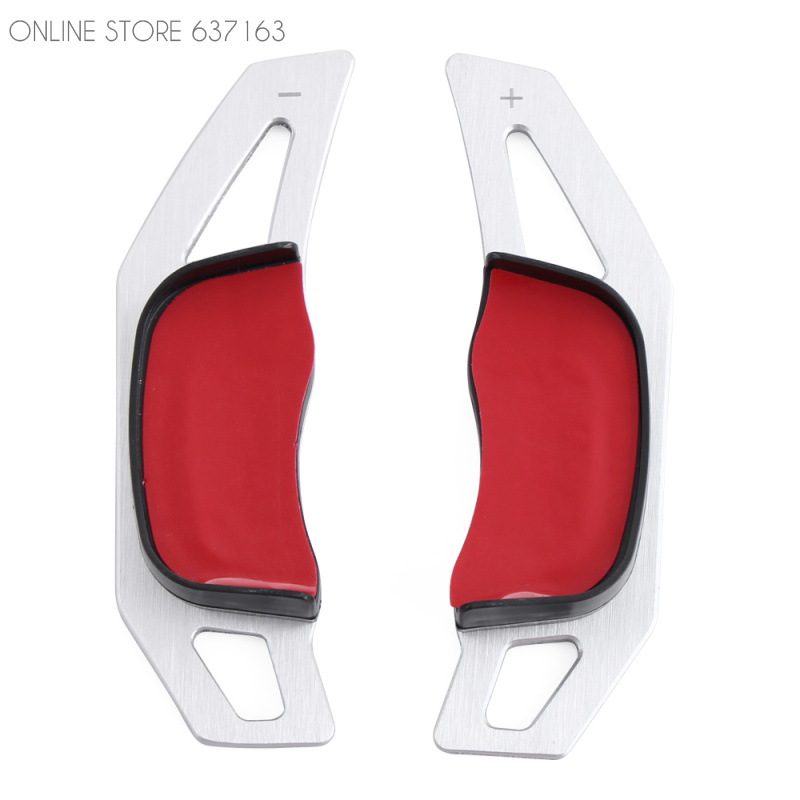 Car Steering Wheel Paddle Extension Shifters Shifter Sticker Decoration For Volkswagen GTI R20 Car Styling(China (Mainland))