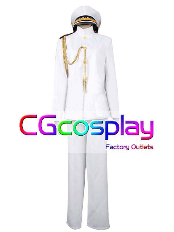 Free Shipping Cosplay Costume Kantai Collection Admiral New in Stock Retail / Wholesale Halloween Christmas Party UniformОдежда и ак�е��уары<br><br><br>Aliexpress