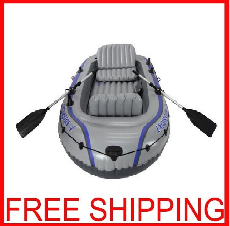 Inflatable Fishing Boat 0.75mm 4 People Kayak Motor Can Be Installed Rubber Boat Drifting Thickening PVC Inflatable Fishing Boat(China (Mainland))