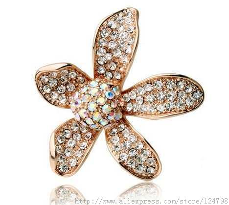 Flower brooch, high fashion accessories to wear personalized romantic garden atmosphere and generous nature, bridal brooch(China (Mainland))