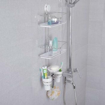 Suction Cup Shelf  Bathroom Shelves wall  Stainless Steel Wall Shelf Storage Rack Shelf Free Shipping