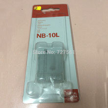 NB 10L batteries NB10L NB 10L Digital Camera Battery Pack for Canon G1X G15 G16 SX40HS