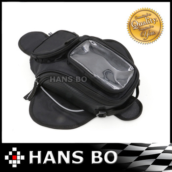 Free shipping!!! 2015 New Black Oil Fuel Tank Bag Magnetic Motorcycle Motorbike Oil Fuel Tank Bag saddle bag w/ Bigger Window