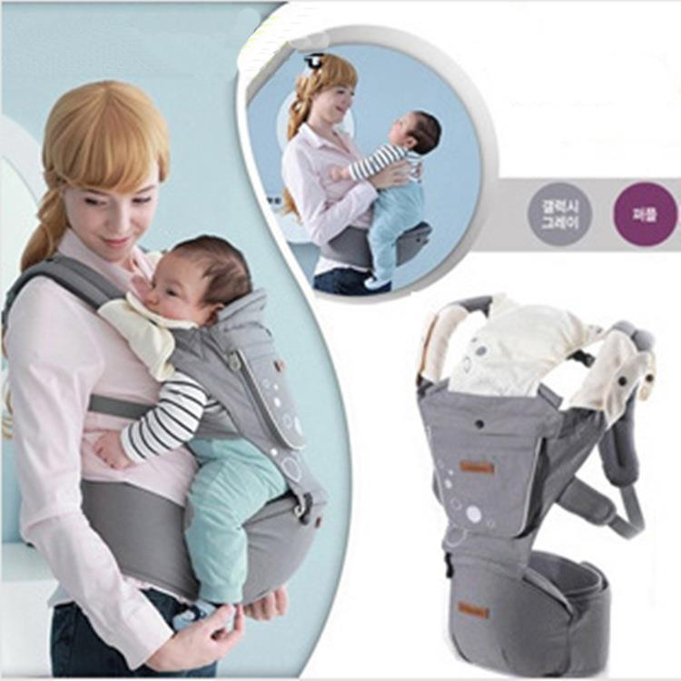 2015 New Korea Stylish New Lumbar Chair Straps Car Seat Baby Carrier Quality Backpacks Kids Wrap Wholesale Sling Free Shipping(China (Mainland))