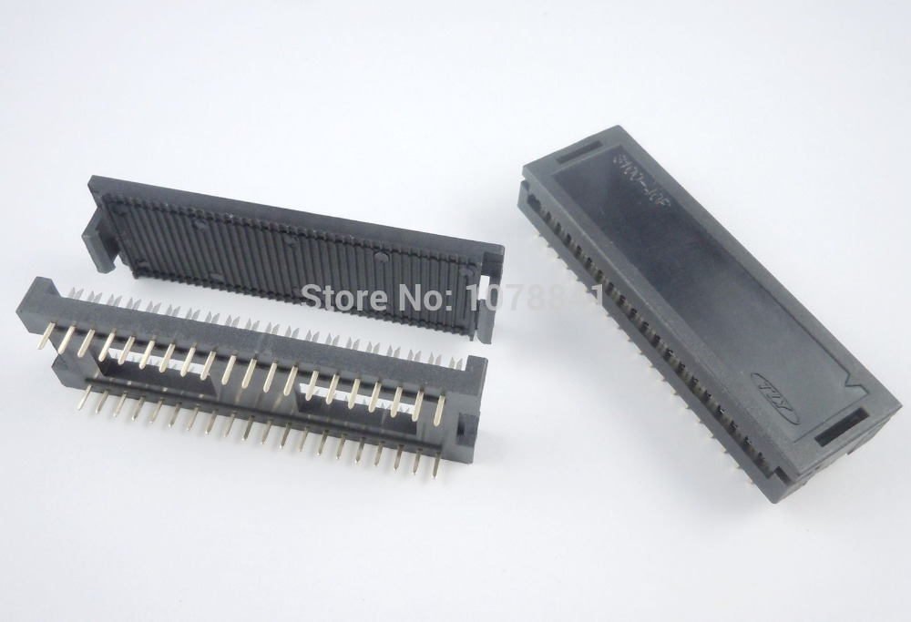 50 Pcs Per Lot 2.54mm 2x20 Pin 40 Pin Male IDC Ribbon Cable Transition Connector 3100-40P от Aliexpress INT