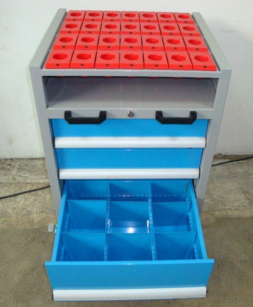 Cheap car BT50 BT40 standard tool CNC abrasive tool holder mobile tool cabinet tool cart(China (Mainland))