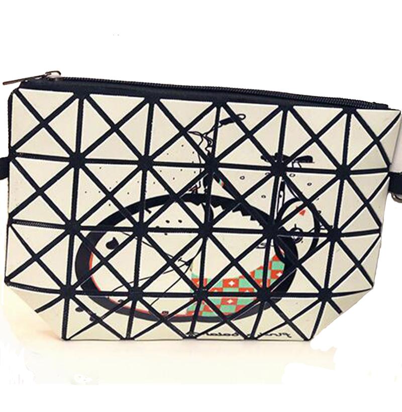 Hot sale! 2016 new PU female shoulder bag deformable painting crossbody bag high quality Diamond Lattice hand bag 8 colors Z-155(China (Mainland))