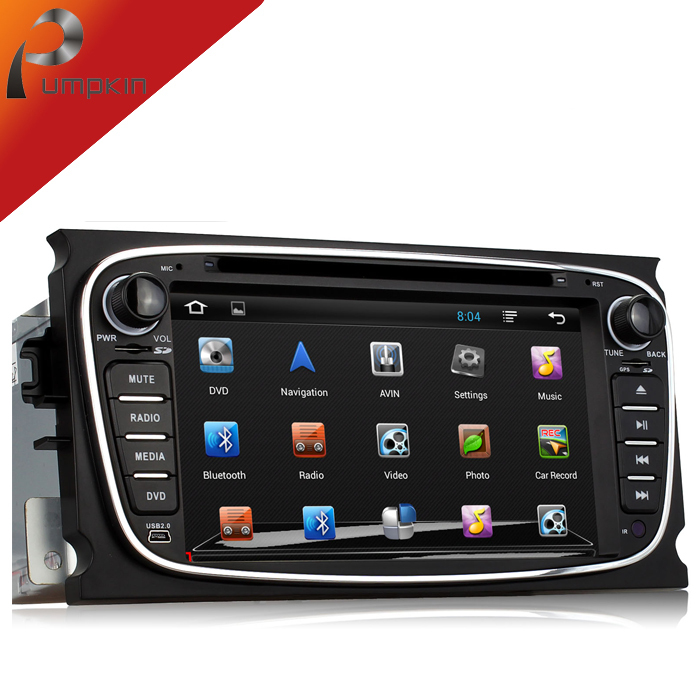 2 din Android 4.2 Car DVD Player For Ford Mondeo Focus S-max Galaxy+GPS Navigation 1.6GB CPU+DDR3+3G+car pc+Car Stereo(China (Mainland))