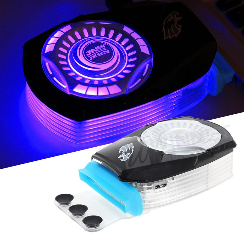 V9 Laptop Cooler USB Cooling Fan Radiator Vacuum Turbine for Dell HP Notebook(China (Mainland))