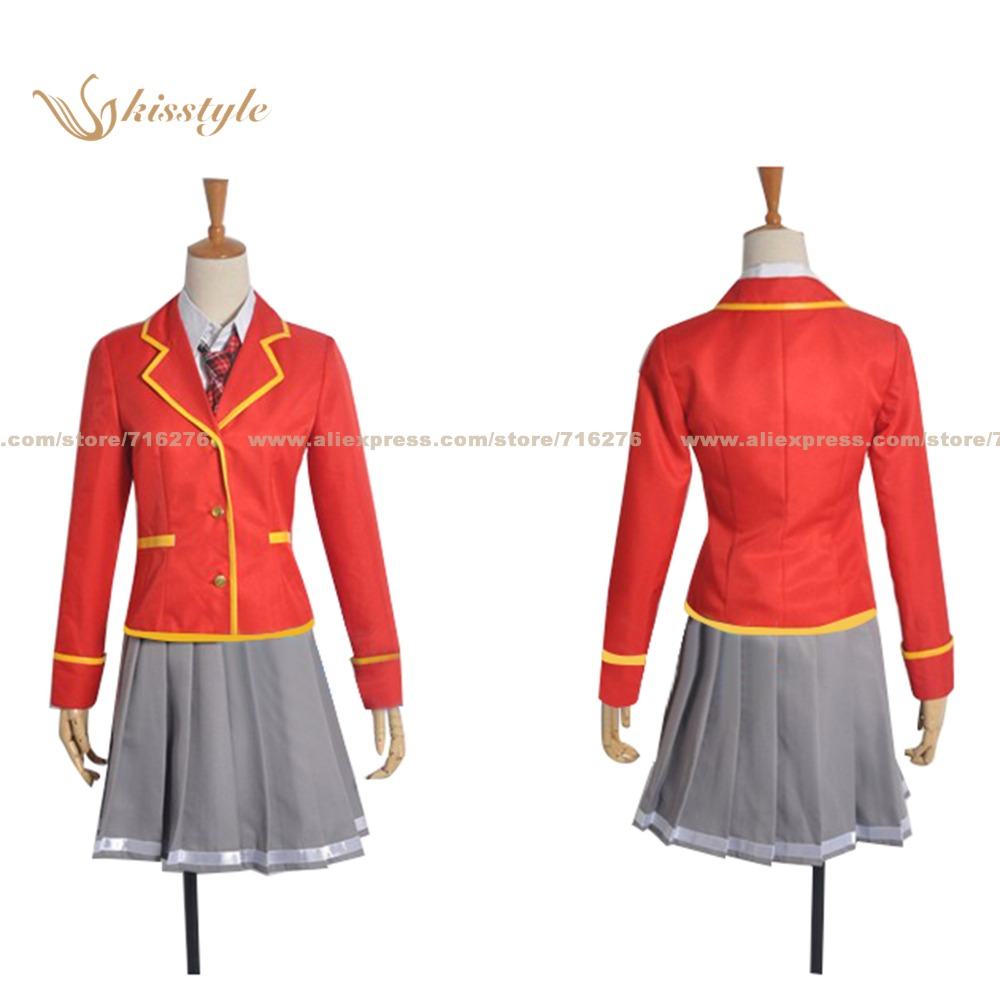 Kisstyle Noucome My Mental Choices are Completely Interfering with my School Romantic Comedy Konagi Yawakaze Cosplay Costume(China (Mainland))