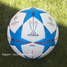 2015  Premier/Span league soccer ball Champion league football Anti-slip granules football ball  PU size 5 balls free shipping(China (Mainland))