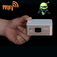 Full HD DLP-2400 Lumens Projector LED Light Multimedia 3D Mini Home Theater 1080p USB HDMI with WIFI(China (Mainland))