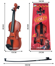 Children Beginners Instrument Adjust String Simulation Violin Musical Toy with Retail Box(China (Mainland))