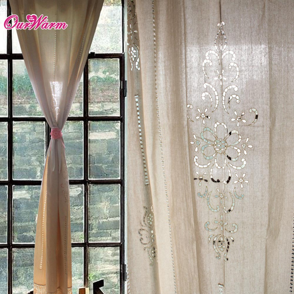 Country curtains lace