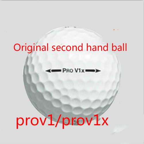 10pcs Original brand second hand golf balls,brand prov1X prov1 3/4 layer golf balls,FREESHIPPING(China (Mainland))