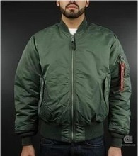 Green Bomber Jacket USA Autumn And Winter MA1 Air Force Men Jacket Tactical Vestido Inverno Large
