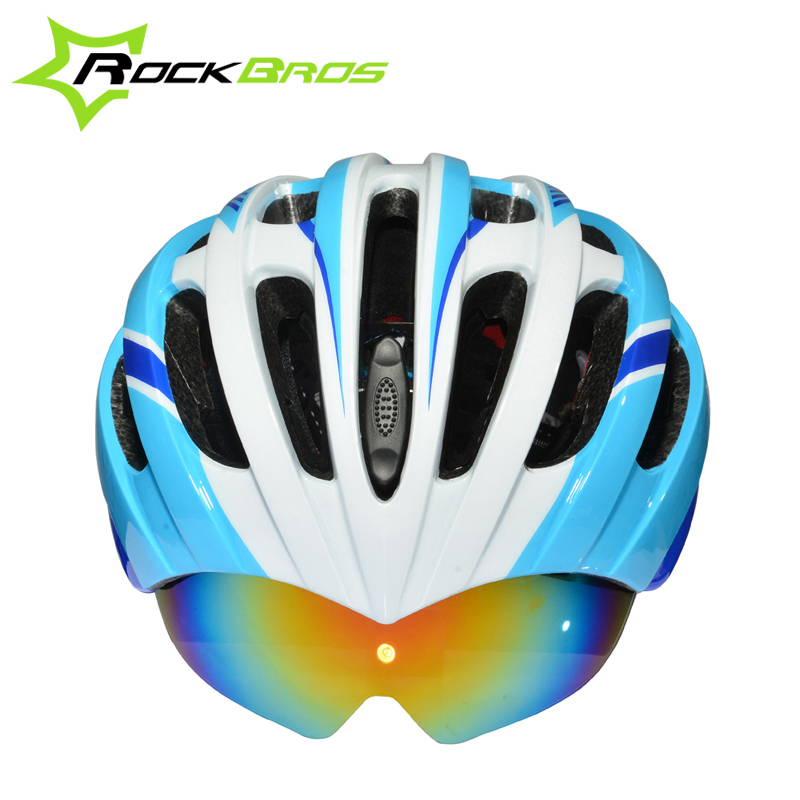 ROCKBROS Bicycle Cycling Helmet casco ciclismo Helmet MTB Road Mountain Bike Helmet 32 Air Vents With 3 Lenses 256g SIZE:57-62cm
