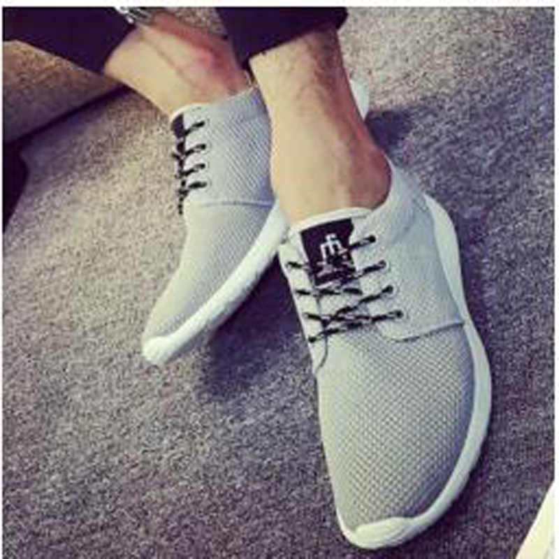 2016 New Spring Summer Men's Casual Shoes outdoor Flat Shoes breathable Air mesh Men Shoes sport zapatos Hombre cheap XD2791(China (Mainland))