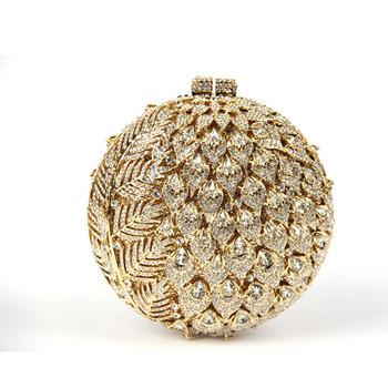 Women's Luxury Golden Clutch