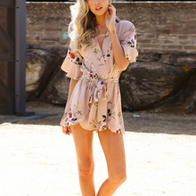 2017 Summer New Rompers Women Jumpsuit Playsuit Chest Wrapped Strapless Rompe Elegant Short Overalls Jumpsuit Female Casual(China)
