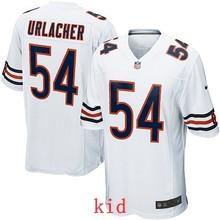 ABC100% Elite men Chicago Bears WOMEN YOUTH KIDS HOT SALE NEW FAST SHIPPING 54 Brian Urlacher(China (Mainland))