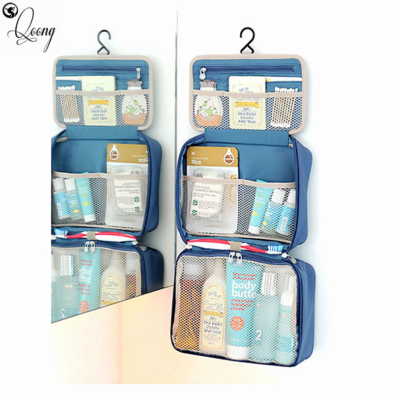 Women Men Luggage Travel Bags Organizer Waterproof Handbag Female Foldable Duffel Bag Valise Can be hung on the wall BL1-002