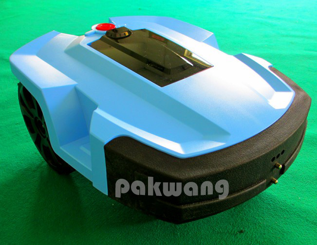L600 Robot Lawn mower with Lithium Battery 4Ah 1 pc, Cutter protector auto hay mower, Robotic mower for home & garden(China (Mainland))
