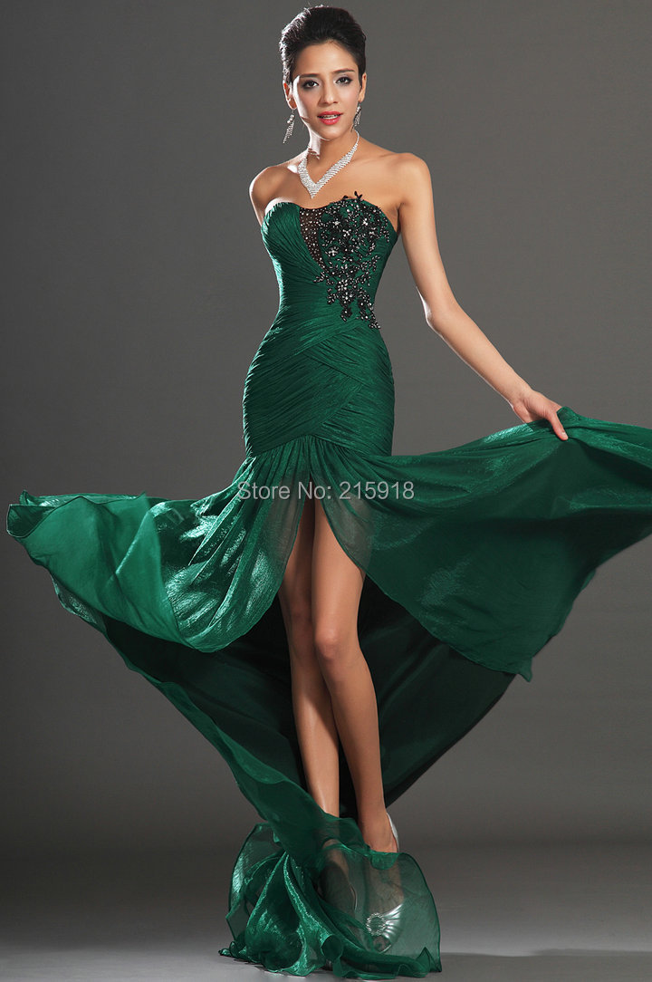 Emerald Green Prom Dresses 2014