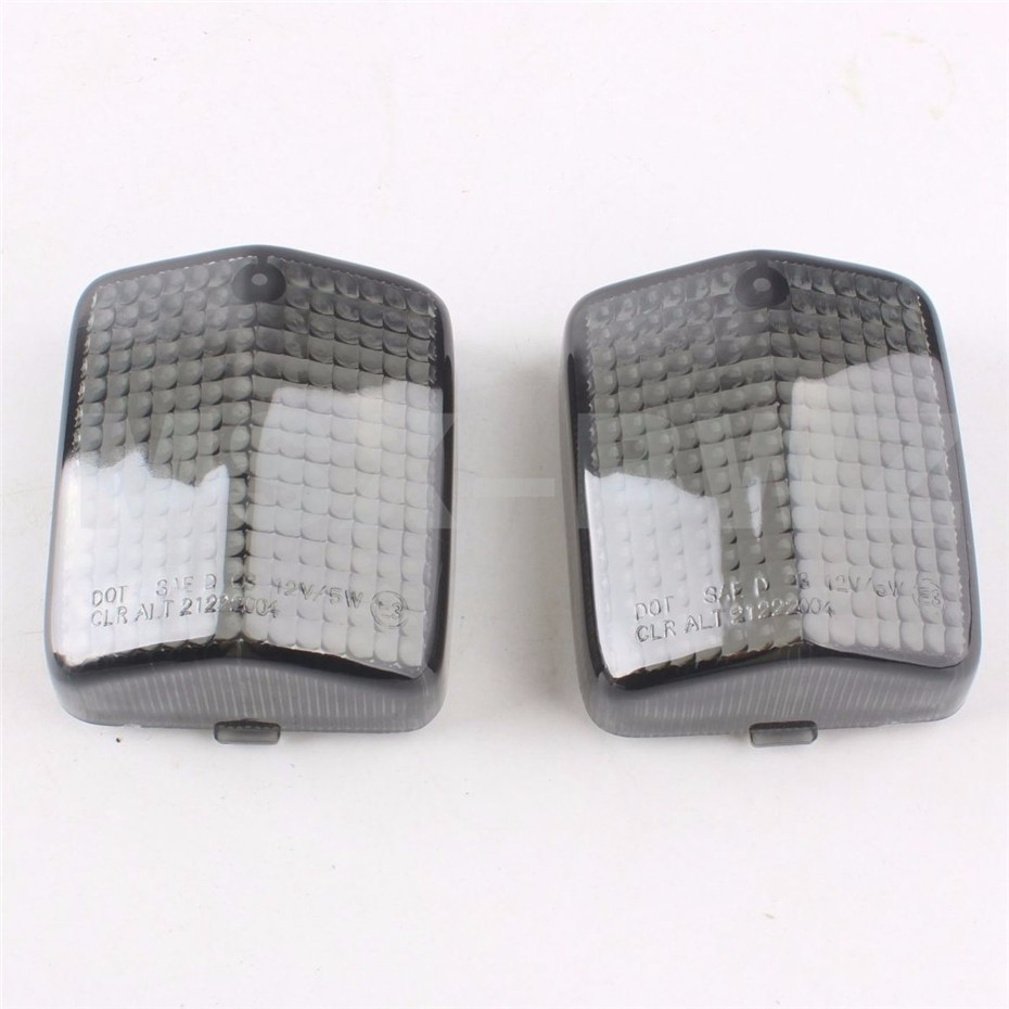 High Quality Turn Signals Light Lens For HONDA CBR1000 87-91 CBR600 F2 / F3 91-96 Blinker Lenses Cover Smoke Black 1995 1996