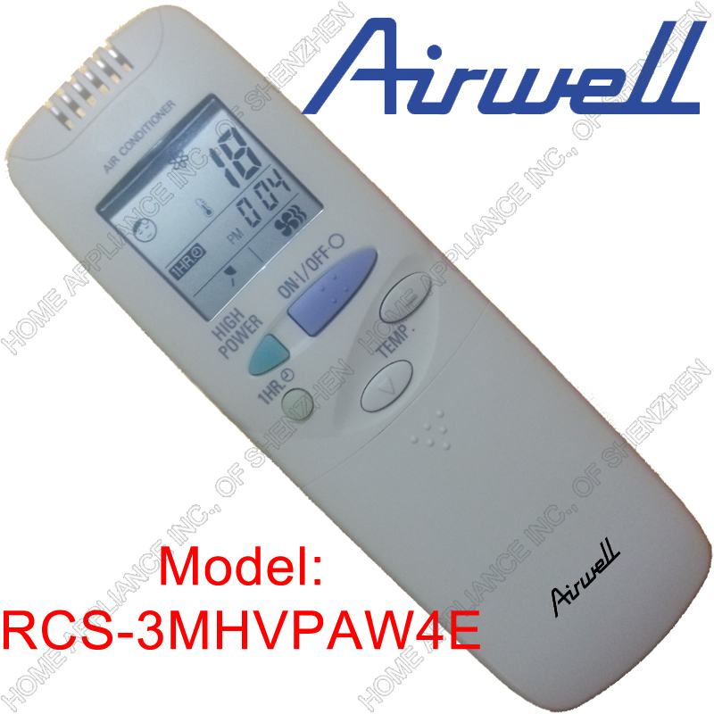 Conditioner Remote Conditioner Airwell Remote