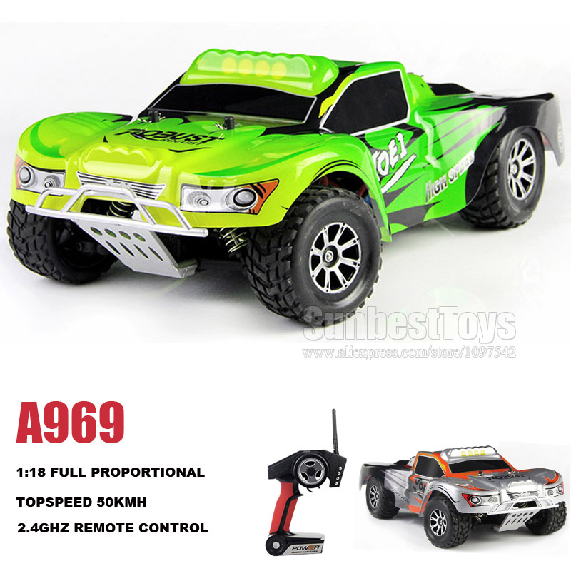 WLtoys A969 RC truck 4WD 1/18 high speed Dirft car remote control buggy<br><br>Aliexpress