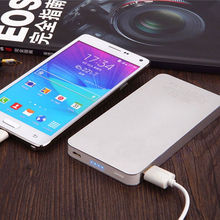 2016 hot sale large capacity cargador multifunctional power bank 10000mAh dual usb portable charger external battery charger