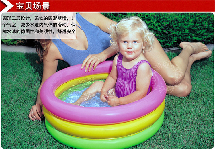 Infant inflatable swimming pool baby swimming new born swimming pool free shipping in swimming 3 month old baby swimming pool