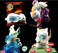 Natsume's Book of Friends Nyanko Sensei 4 pcs set mini figures toys gift new Cartoon & Anime Collection #B