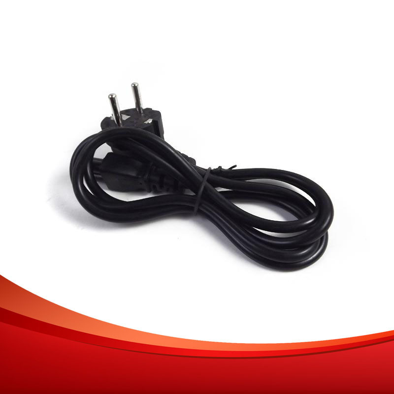 1.2M EU Power plug socket Cable Standard Europe Power Extension Cable Free Shipping(China (Mainland))