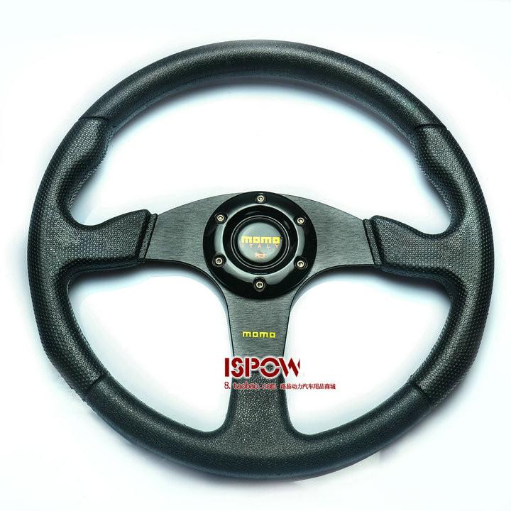 New arrive Car steering wheel modified steering wheel automobile race steering wheel refires PU momo steering wheel 5128pu(China (Mainland))