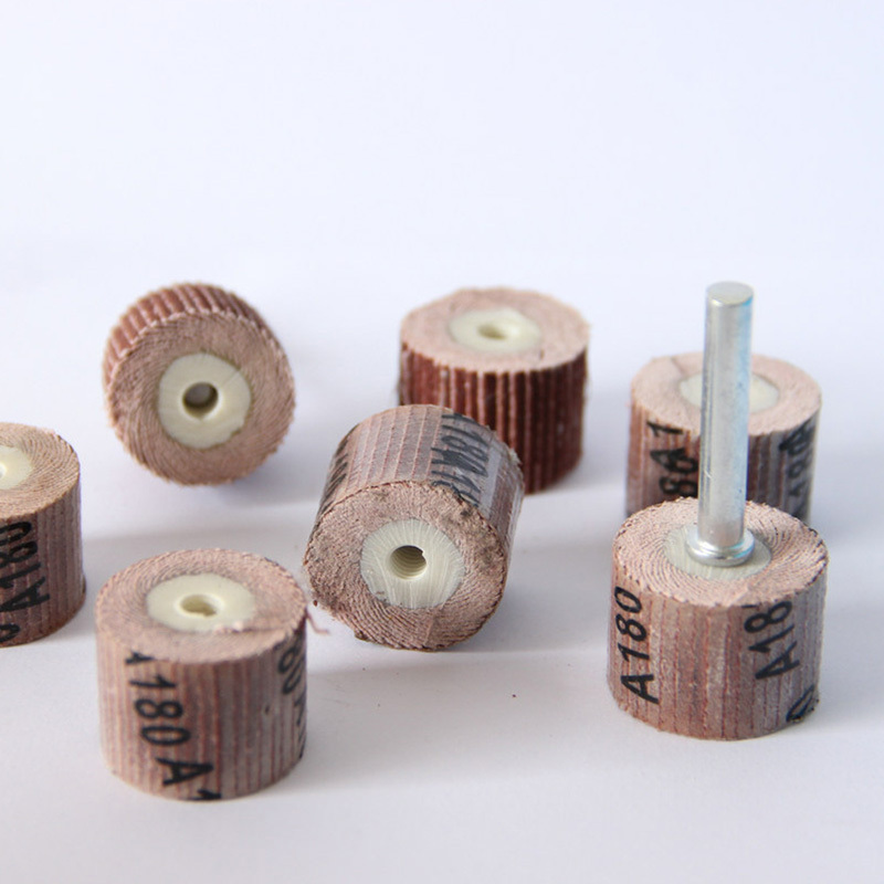10pcs 12 7mm sandpaper grinding wheel mini drill dremel tools accessories rotary tool abrasive buffing polishing