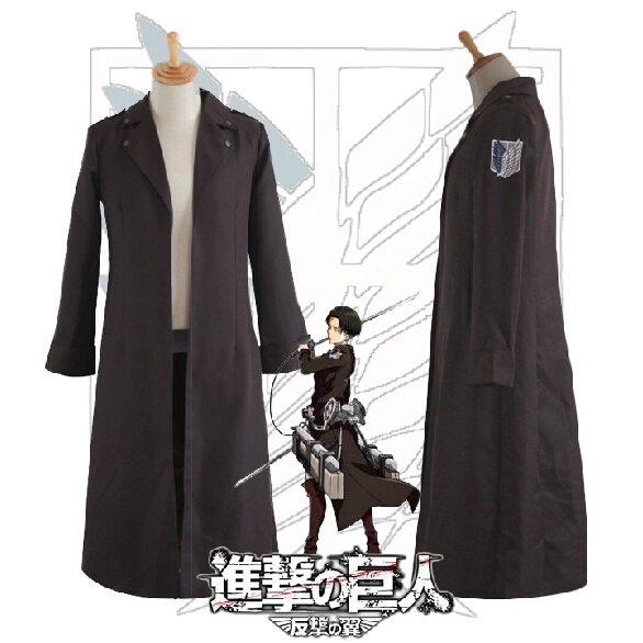 Attack on Titan counterattack Wings Levi / Eren Jager cloak cosplay clothing apparel Jackets(China (Mainland))